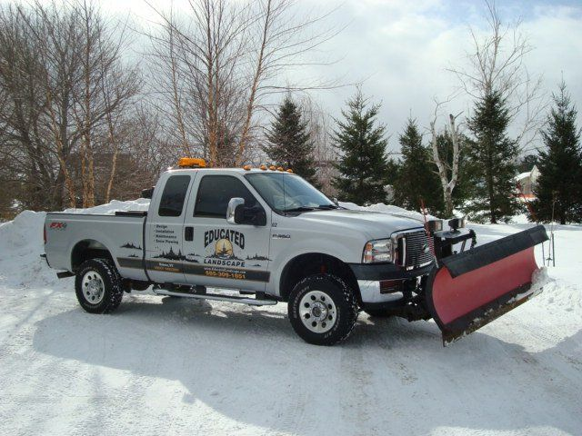 Snow Plowing Services in Webster
